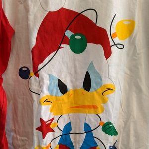 Disney Donald Duck Xmas Tee